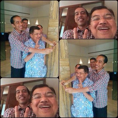 Jokowi presiden kegembiraan