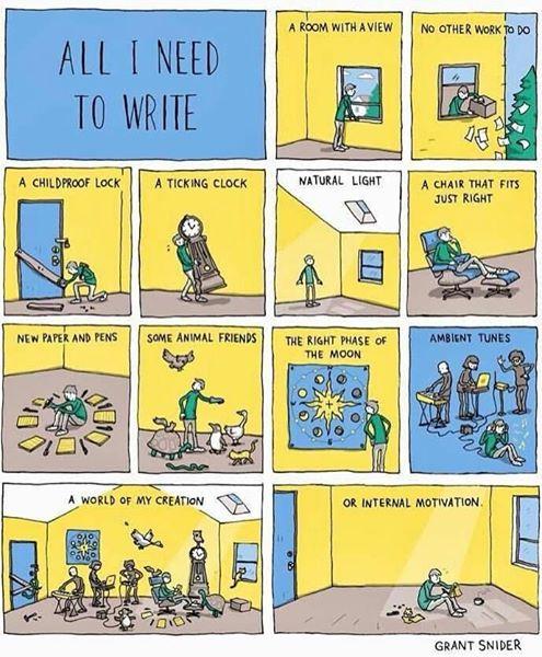 Undur Diri untuk Menulis